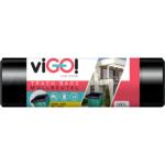 Quickpack viGO pytle na odpad silné 28 µ, 90 × 110 cm, 160 l, 10 ks