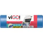 Quickpack viGO pytle na odpad zatahovací HDPE, 50 × 60 cm, 35 l, 15 ks