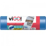 Quickpack viGO pytle na odpad silné 9 µ, 48 × 57 cm, 35 l, 36 ks