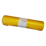 Alufix pytle na odpad, zatahovací, žluté, HDPE, 70 × 110 cm, 120 l, 25 ks
