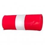 Alufix pytle na odpad, zatahovací, červené, HDPE, 70 × 110 cm, 120 l, 25 ks