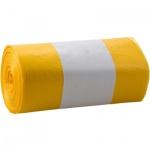 Alufix pytle na odpad, zatahovací, žluté, 120 l, 20 ks