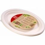 Alufix BIO jednorázový talíř oválný, průměr 25 cm, 6 ks