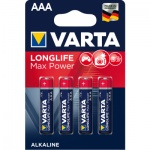 Varta Max Tech alkalické AAA baterie,  balení 4 ks, 961030