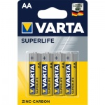 Varta Superlife, baterie AA, 4 ks