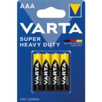 Varta Superlife, baterie AAA, zinko ulhíkové, 4 ks