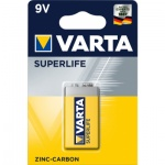 Varta Superlife, baterie 9 V, 1 ks