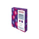 OVO Duo tekutá barva na vajíčka, červená a fialová, 2 × 20 ml