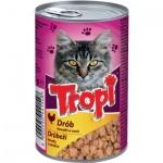 Tropi konzerva pro kočku kuřecí, 415 g