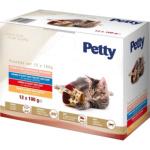 PETTY kapsička pro kočky mix, 12 × 100 g