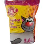 Happy Cool, vysoce absorpční silikonové stelivo pro kočky, 3,6 l