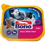 Bono Adult paštika pro psy s telecím 300 g