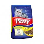 Petty granule pro kočky s hovězím, játry a zeleninou, 2 kg