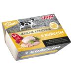 Sam vanička pro psy s kuřecím masem, 97% podíl masa, 415 g