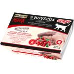 Micka Premium vanička pro kočky, s hovězím, kuřecím, brusinkami a taurinem, 325 g