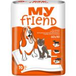 Bella My Friend, savé podložky pod zvířata, rozměry 90 x 60 cm, 10 ks