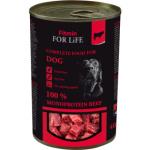 Fitmin For Life Hovězí konzerva pro psy, 400 g
