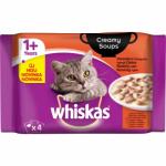 Whiskas Klasický výběr krémová omáčka krmivo pro kočky, 4 × 85 g