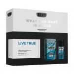 STR8 Live True dárková sada DEO + voda po holení