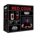 STR8 Red Code dárková sada DNS + sprchový gel