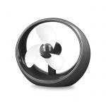 Větrák oválný černá-bílá USB FAN-100