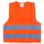 Vesta výstražná oranžová dětská EN 1150, 01513