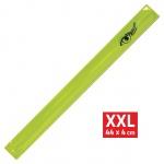 Pásek reflexní ROLLER XXL 4x44cm S.O.R. žlutý, 01692