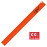 Pásek reflexní ROLLER XXL 4x44cm S.O.R. oranžový, 01694