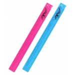 Pásek reflexní ROLLER 2ks růžový + modrý, 01708