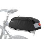 Cyklotaška na zadní nosič + zadní LED světlo, 12034