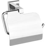 Držák toaletního papíru s krytem Quad Chrom, TO-69315