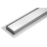 Lineární koupelnový žlab Bílé Sklo 90 cm WET&DRY, TO-75384