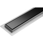 Lineární koupelnový žlab Černé Sklo 60 cm WET&DRY, TO-75386