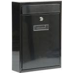 Poštovní schránka 360x260x80mm černá, TO-78555