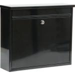 Poštovní schránka 310x360x100mm černá, TO-78575