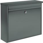 Poštovní schránka 310x360x100mm šedá, TO-78576