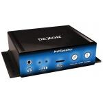 DEXON Systém digitálního IP ozvučení - mini stereo IP zesilovač NetSpeaker -, 27_500