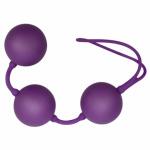 Trojité venušiny kuličky Velvet Balls purple, 05060010000