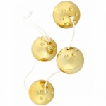 Zlaté venušiny kuličky se 4 kuličkami, 3000000979
