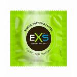 Kondom Exs Ribbed 1ks, Dotted & Flared, EXSTexture