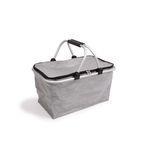 Stříbrný nákupní košík 6739