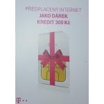 SIM s kreditem T-mobile 200Kč Twist předplacený Internet jako dárek