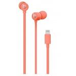 Apple urBeats3 Earphones Lightning - Coral, MUHV2EE/A