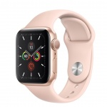 Apple Watch S5, 40mm, Gold/ Pink Sand Sport Band, MWV72VR/A