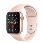 Apple Watch S5, 44mm, Gold/ Pink Sand SB - S/M & M/L, MWVE2VR/A