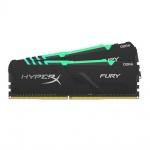 32GB DDR4-3200MHz CL16 HyperX Fury RGB, 2x16GB, HX432C16FB3AK2/32