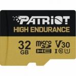 32GB microSDHC Patriot High Endurance V30 U3 až 95MB/s, PEF32GE31MCH