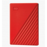 "Western Digital Ext. HDD 2,5"" WD My Passport 2TB USB 3.0. červený, WDBYVG0020BRD-WESN"