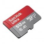 SanDisk Ultra microSDXC 512GB 100MB/s + adaptér, SDSQUAR-512G-GN6MA