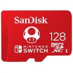 SanDisk Nintendo Switch microSDXC 128GB, SDSQXAO-128G-GNCZN